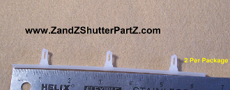 Vinyl Shutter Vane Connector For 2 1 2 Inch Louvers