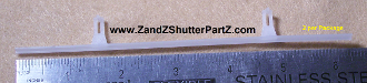 Vinyl Shutter Vane Connectors For 3 1 2 Inch Louvers